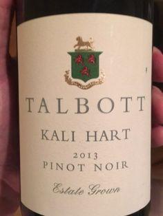 Robert Talbott Kali Hart Pinot Noir 2013 | Wine Info