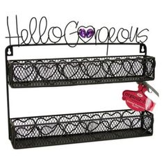 Anna Lou, room redo Hello Gorgeous Double Wall Shelf - BedBathandBeyond.com