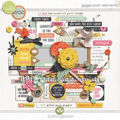 Giggle Snort {elements} by Sara Gleason