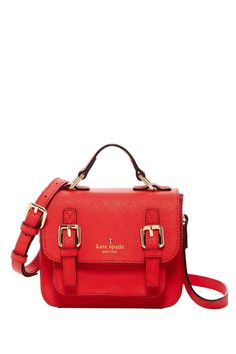 Girls' Scout Leather Crossbody by kate spade new york on @HauteLook