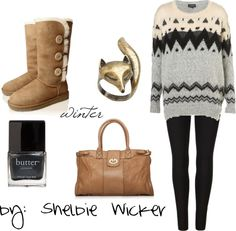 """winter"" by shelbieewickerr on Polyvore"