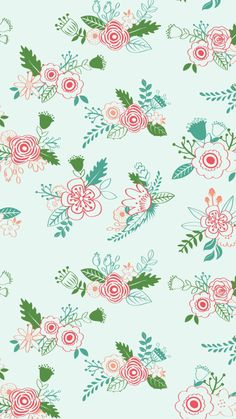 Our new free March mobile wallpaper downloads are here! Cheer up your day with a springy floral! via Nicolesclasses.com