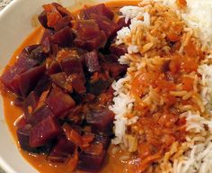 Rote Bete-Curry vegan