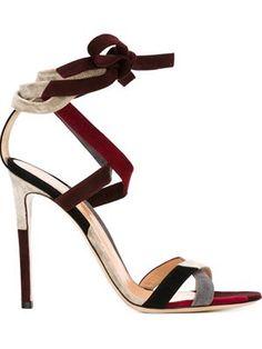 strappy stiletto sandals