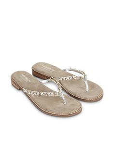 Alisha Bejewelled Sandal