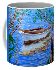 Coffee Mug,  home,kitchen,accessories,cool,beautiful,fun,fancy,unique,trendy,artistic,theme,awesome,unusual,gifts,presents,products,items,for sale,design,ideas,blue,sea,boat,nautical,marine,fine art america