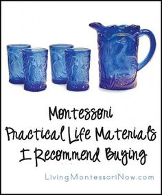 I've often been asked which Montessori materials I recommend homeschoolers buy.