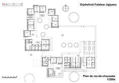 Imagen 18 de 28 de la galería de Orfanato Falatow Jigiyaso / F8 architecture + Gérard Violante. Planta Baja