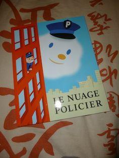 Le nuage policier - EDL - Les lectures de Liyah,des 3ans