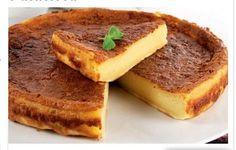 Tarte de leite e canela | Sobremesas de Portugal