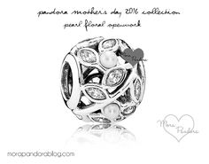 I want this charm so bad! Pandora Mother's Day 2016- pearl floral openwork