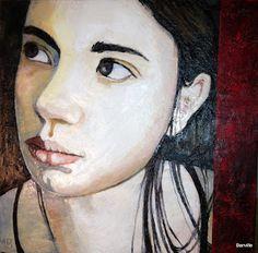 Marie Banville encaustic artist: Encaustic Portraits