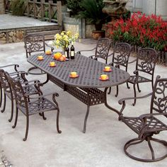Outdoor Cast Aluminum Patio Furniture - Cool Apartment Furniture Check more at http://cacophonouscreations.com/outdoor-cast-aluminum-patio-furniture/