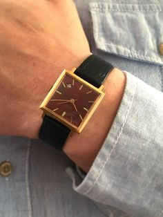 Bărbați Vintage Watch numit GLORIE Slava 21j. de SovietEmpire