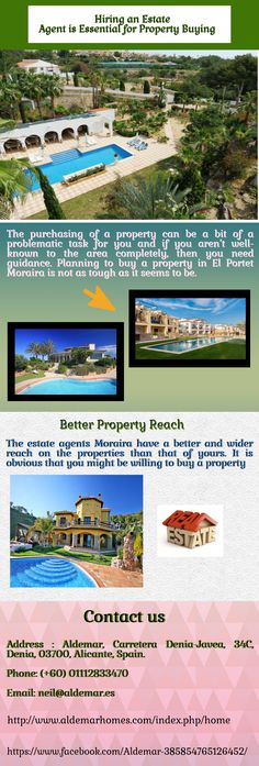 Estate Agents Moraira can help you in finding your perfect property either in your price range or closer to it.