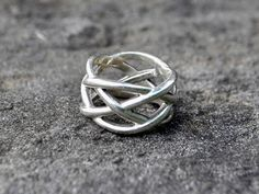 1dcb2fde2c For Sale 704-277-4060 · SOLD - Tiffany and Co. Woven Knot Sterling Silver  Ring - size 6 marked T