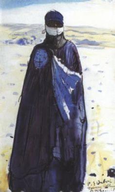 Noble touareg du Hoggar von Paul Elie Dubois