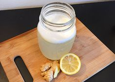 INGREDIENTS: 12 – 16 oz hot water ½ lemon, juiced ½ tsp lemon zest (from ½ lemon peel) 1 in (2.5 cm) piece of ginger, peeled and grated dash of cayenne pepper (optional) ¼ – ½ teaspoon honey (optional) Heat and Blend