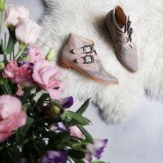 Para este frío, botinetas Guadalajara!! #misvh #boots #flowers #beige #nordic #shoes #winter #victoriahache