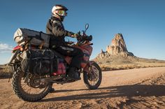 Siskiyou Panniers waterproof soft luggage for motorcycles mount to any rack, fit adventure touring bikes without luggage racks include exhaust heat shields