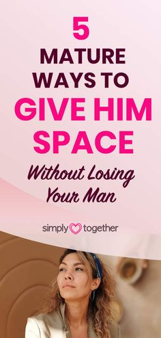When a man is pulling away and tells you he needs space in a relationship, it might make you feel uneasy. But there is a right way how to do it in a way that will work, both for YOU and for him. Here you'll find tips on how to make him less distant and bring him closer. #Dating #DatingAdvice #Relationship #RelationshipAdvice #RelationshipTips Space In A Relationship, Relationship Problems, Relationship Advice, Your Man, Losing You, Dating Advice, Make You Feel, Giving, Closer
