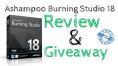 Ashampoo Burning Studio 18 Giveaway