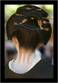 Japanese Theme, Japanese Geisha, Japanese Design, Japanese Beauty, Japanese Culture, Japanese Art, Asian Beauty, Japanese Kimono, Art Geisha