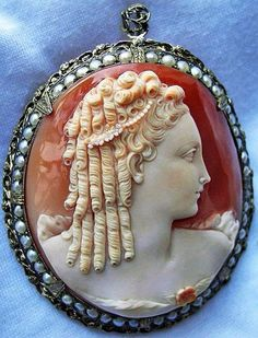 Cameo Of Marie Antoinette Made By King Louis XV1