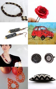 Red or Black by carole on Etsy--Pinned with TreasuryPin.com