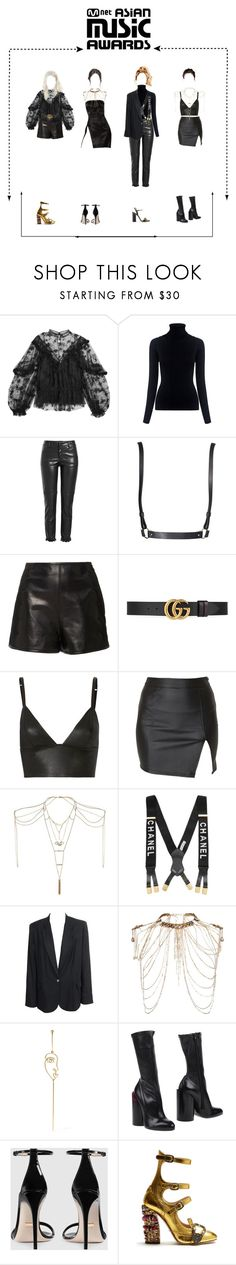 """""""Başlıksız #28"""" by jansetozturk ❤ liked on Polyvore featuring Chloé, M.i.h Jeans, Philosophy di Lorenzo Serafini, OuiHours, RED Valentino, Gucci, T By Alexander Wang, Alice In The Eve, Topshop and Erickson Beamon"""