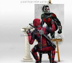 """The Invisible Man""...? Deadpool Book, Marvel Art, Marvel Dc Comics, Marvel Avengers, Marvel Funny, X Men, Marvel Characters, Book Characters, Marvel Cinematic Universe"