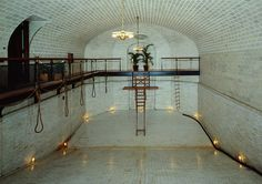 The architectural beauty of #Biltmore House's indoor pool.