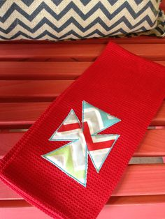 Appliqued Cross Towel by TMIGifts on Etsy, $10.00