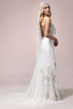 The Leif gown from Rue De Seine. Perfect for the boho bride.