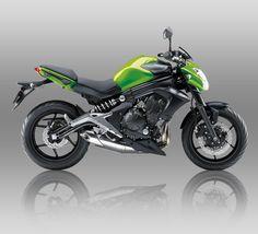 Lime Green Kawasaki er6n non ABS 2012