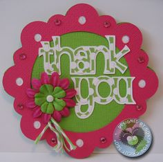 thank you from Alphalicious, frame from Elegant Edges