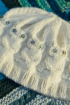 Knit Owl Hat - free pattern