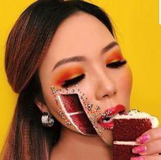 Amazing Optical Illusions, Halloween Face Makeup, Lipstick, Beauty, Lipsticks, Beauty Illustration