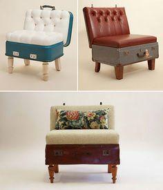 Community Post: Lovely Vintage Suitcase Furniture | Vintage ...