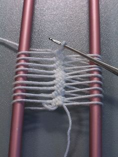 Hairpin Crochet Instructions   Hairpin Crochet is created by using a tool that looks like a long ...