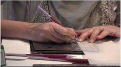 Pergamano HD :: tutorial La Magnolia, via YouTube.