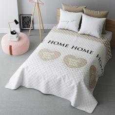 Prehoz na posteľ With Love béžový