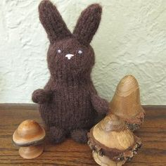 This cute knitted amigurumi pattern is the perfect alternative to giving out sweet treats on Easter. Crafted with brown worsted weight yarn, the Calorie Free Chocolate Bunny might lack a shiny chocolate coating, but it still makes an adorable Easter basket stuffer! Download the free knitting pattern today.