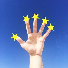 .  5 fingers of Christmas #nataldotiago .