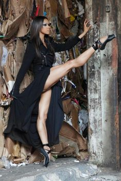Misty Copeland, the first African American female soloist for the American Ballet Theatre (ABT)
