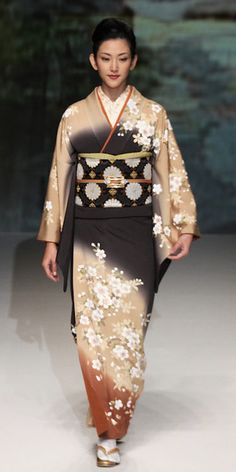 thekimonogallery: # 12: Yukiko Hanai designed this silk kimono and obi. 2012, Japan  via: Yellowmenace.tumblr
