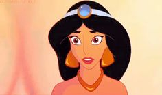 """I got Jasmine from """"Aladdin""""! Which Disney Princess Should Be Your Wing Woman?This princess knows a little something about finding diamonds in the rough. She'll scout out someone you might not have even noticed, and you guys will hit it off in an instant. Disney Pixar, Walt Disney, Disney Cartoons, Disney Magic, Disney Movies, Disney Characters, Disney Stuff, Disney Facts, Kid Movies"""