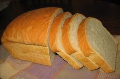 This is my go to- no fail bread recipe that I make all of the time. I love this white bread!