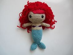 A Little Mermaid was one of my older sister's favourite movies. She thought Ariel was the prettiest Disney princess. For her birthday, I mad...