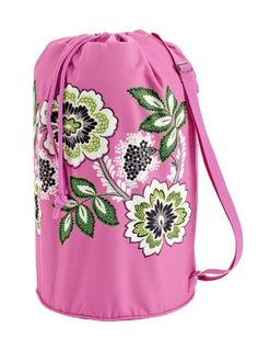 Amazon.com: Vera Bradley Laundry Bag (Priscilla Pink): Clothing